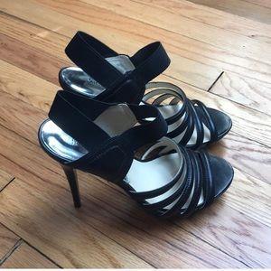 👠 Michael Kors strappy black heels 👠